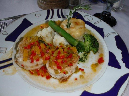 Grand Bahia Principe Coba : Repas au restaurant à la carte le Pescador