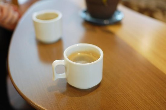 Ichinobo: ラウンジで朝飲んだコーヒー