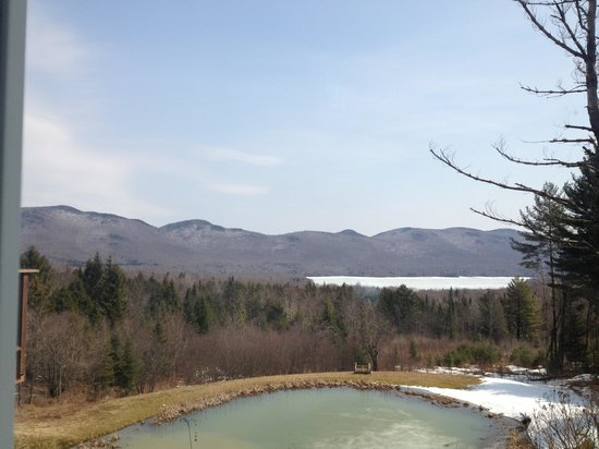 The Mountain Top Inn & Resort : Mountain View