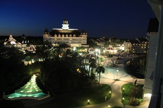 Disney's Grand Floridian Resort & Spa : Standard view from Deluxe Villa