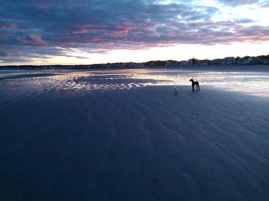 Long Sands Beach : nice sky