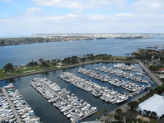 Marriott Marquis San Diego Marina : view from our room