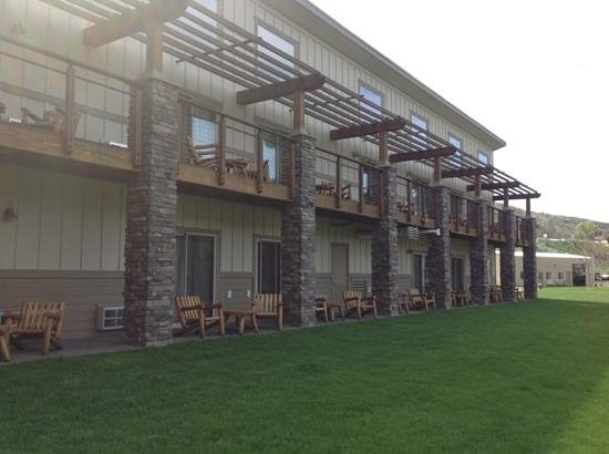 Imperial River Co. : your room overlooking the river
