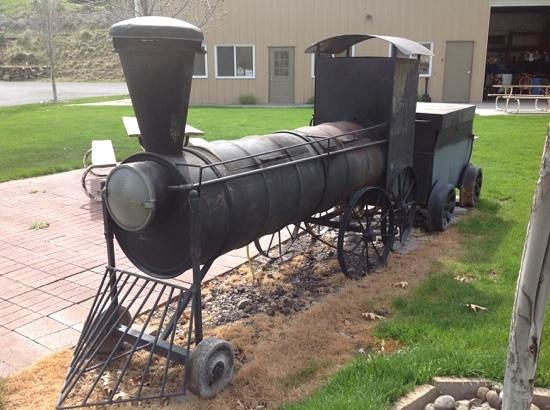Imperial River Co. : How about a BBQ train?