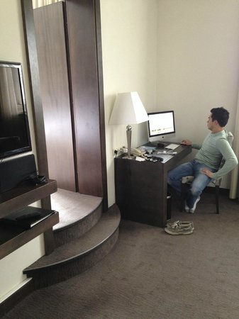 Grand Hotel Bohemia: Two room suite…equipped with an iMac and Nespresso machine!