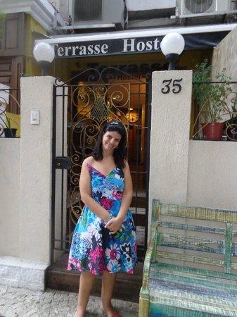Terrasse Hostel : Previlégiado o local  e bom público