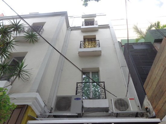 Terrasse Hostel : Estilo caseiro