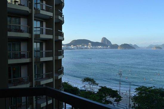 Sofitel Rio de Janeiro Copacabana: vista praia