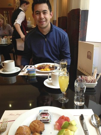 Grand Hotel Bohemia: My partner in crime :)