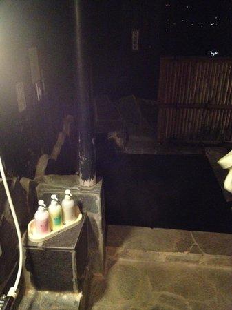 Takenokura Sanso: 部屋についている露天風呂