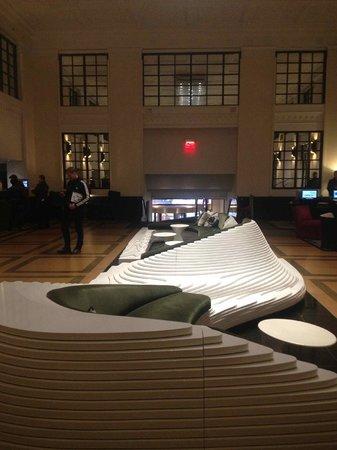 Stewart Hotel : El lobby es muy chic
