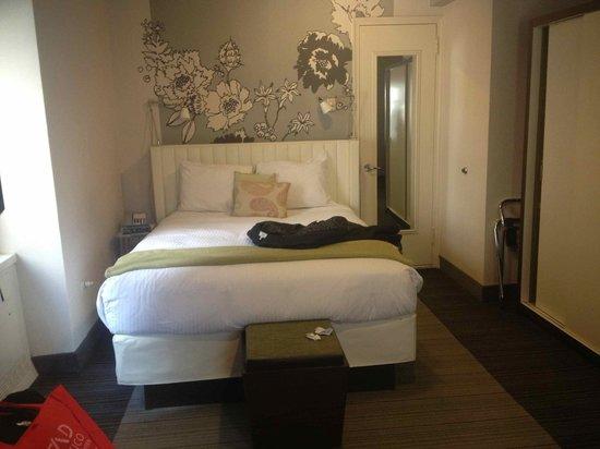 Manhattan NYC–an Affinia hotel : Entrada de la habitación queen
