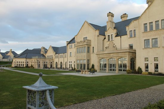 Lough Erne Resort: West courtyard of the Resort