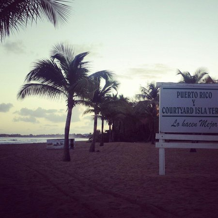 Courtyard by Marriott Isla Verde Beach Resort: :)