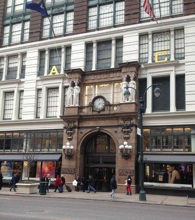 Manhattan NYC–an Affinia hotel : A dos cuadras está Macy's