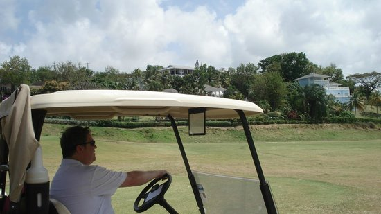 St. Lucia Golf Club: Nice course, some pretty nice mansions built around it.  A lot of blind shots.