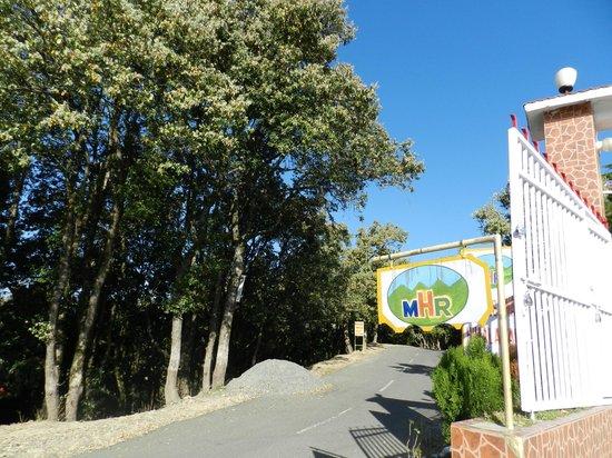Mukteshwar Himalayan Resort: Entrance