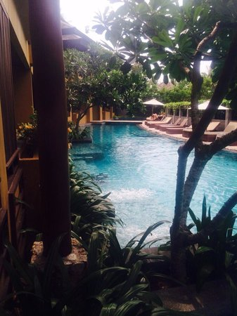 Deva Samui Resort & Spa : pool view from room