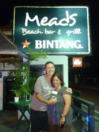 Meads Beach Bar & Grill : Meads Restaurant