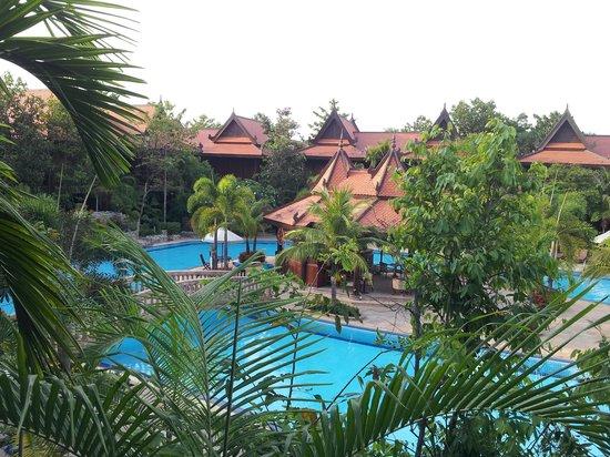 Sokhalay Angkor Villa Resort: view from room