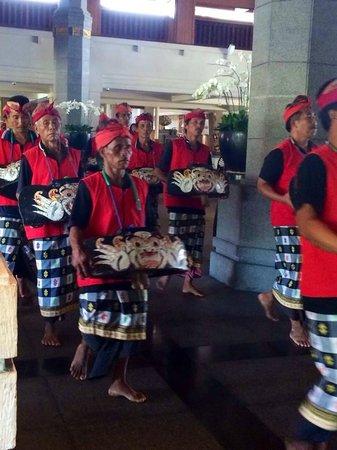 INTERCONTINENTAL Bali Resort : Parade