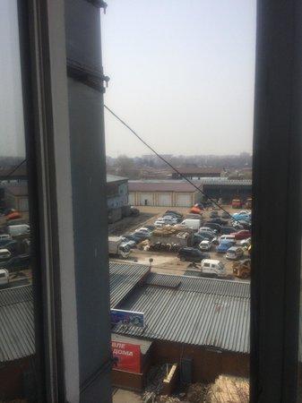 Vozdushnaya Gavan: Вид из окна с номера стоимость 100$