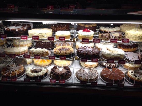 The Cheesecake Factory: Pouca variedade