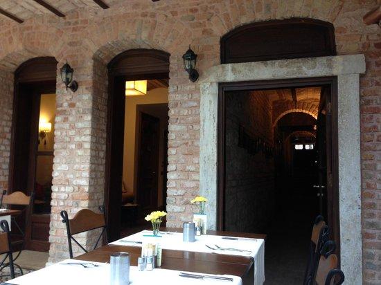 Celine Hotel : Ресторан для завтраков