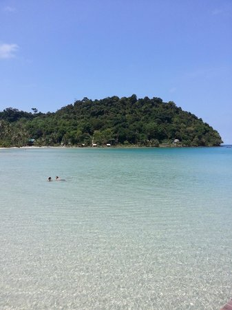Away Koh Kood Resort: ขากลับแวะเล่นน้ำที่สยามบีช