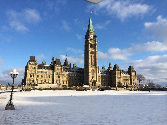 Sheraton Ottawa Hotel: Parliament building