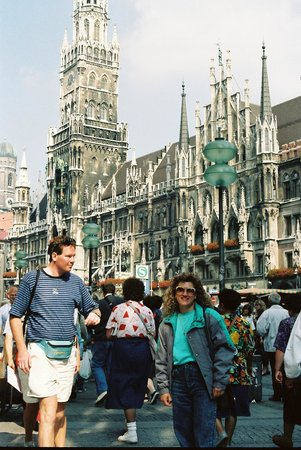 Marienplatz Munich, Bavaria, Germany