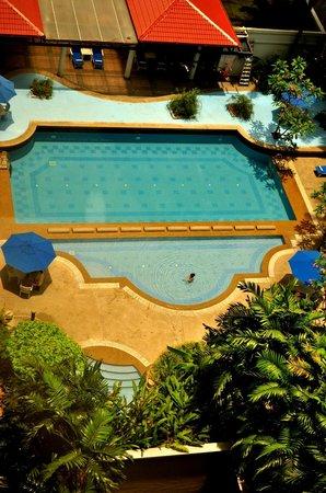 The Royale Bintang Kuala Lumpur: Pool side view from 12th Floor