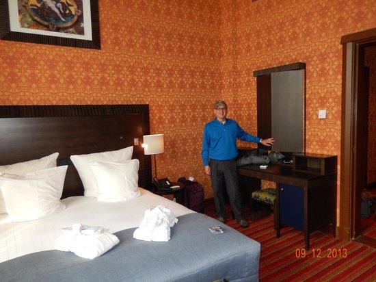 Grand Hotel Amrath Amsterdam: Gigantic hotel room