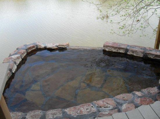 Riverbend Hot Springs : The Rio Grande pool