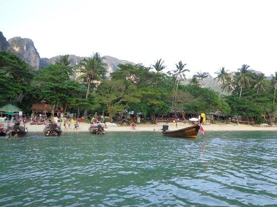 Banyan Tree Resort : Leaving Tonsai Bay