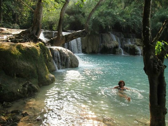 Tad Thong Waterfall: Swiming pool number 3