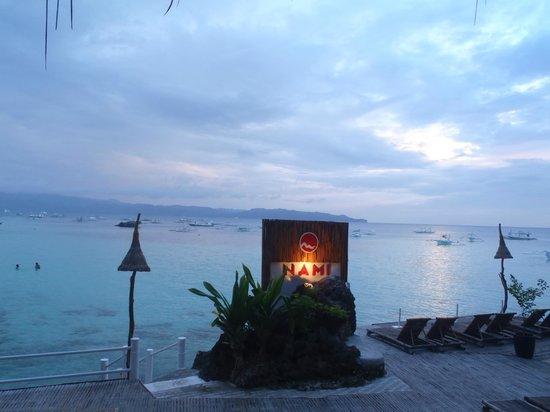 Nami Resort : Sun is setting