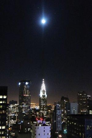 Hyatt Centric Times Square New York: Rockefeller saying hello on the left