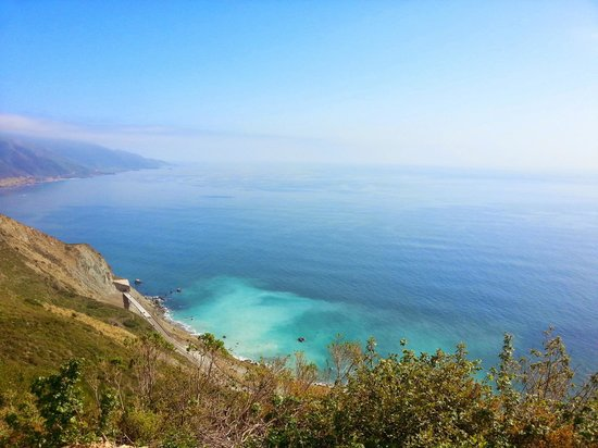 New Camaldoli Hermitage: view of Big Sur from the trail