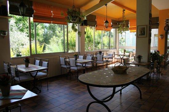 Hôtel Le Saint Marc : la salle petit déjeuner
