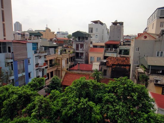 Tung Trang Hotel: View from room 501