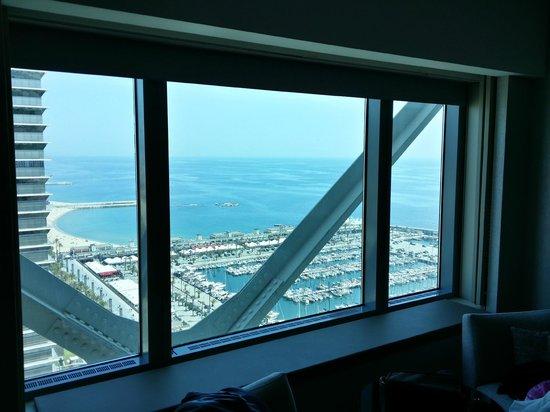 Hotel Arts Barcelona: Room view