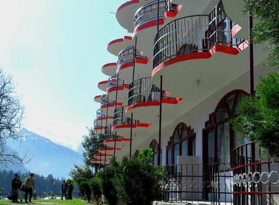 Himanshu Resort : Side View of Himanshu Resrot