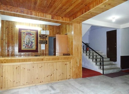 Himanshu Resort : Himasnhu Resort Reception