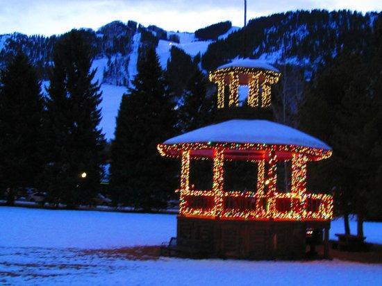 St. Moritz Lodge & Condominiums: Park just across street
