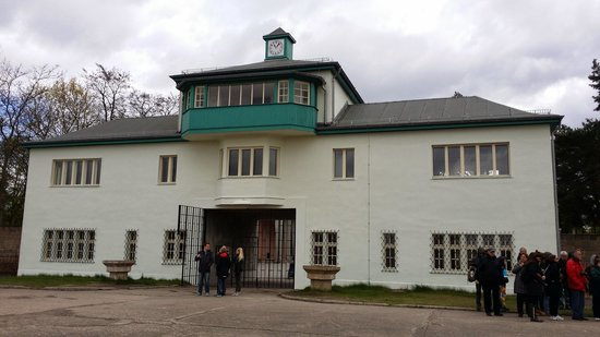 Sachsenhausen Concentration Camp : The guard house