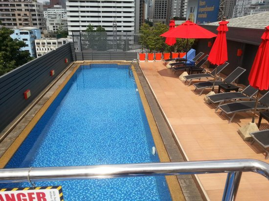 Hotel Solo Sukhumvit 2 : Great pool on a hot day,which is everyday