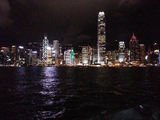 Dorsett Mongkok Hong Kong: Night scene-Avenue of Star