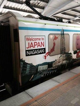 Airport Rail Link: 列車広告