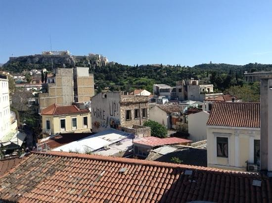 O&B Athens Boutique Hotel : view from room 24!!